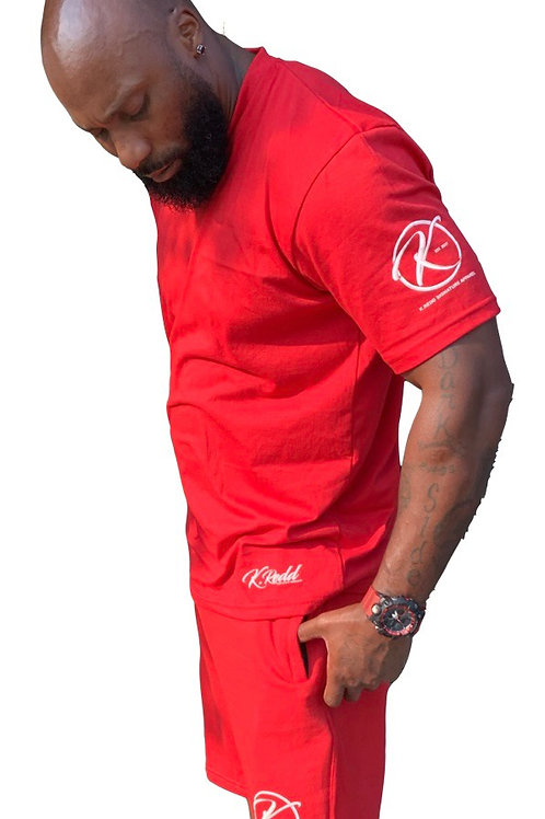 Signature K.Redd Zipper Pocketed Shorts Set