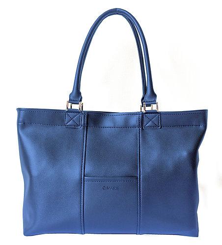 男女兼用ビジネスバッグ - ナイトブルー
