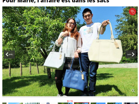 Our story has been published in a French newspaper