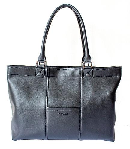(予約受付中) 男女兼用ビジネスバッグ - ブラック