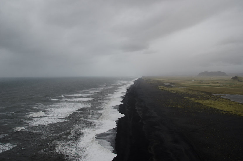 Endless Black Beach