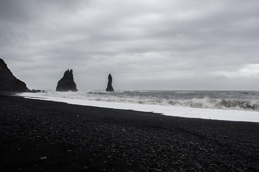 Trolls Rocks and Sea