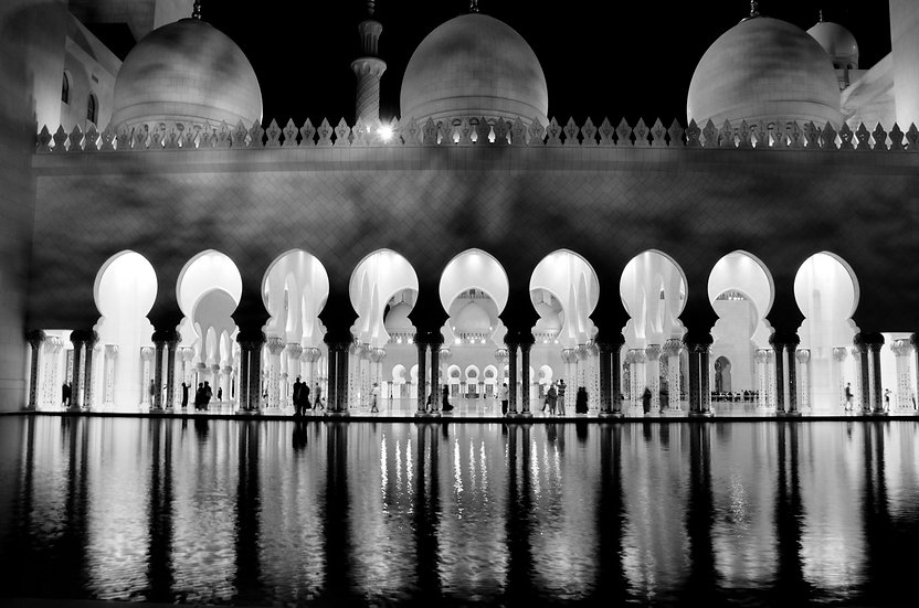 Mosque Reflections
