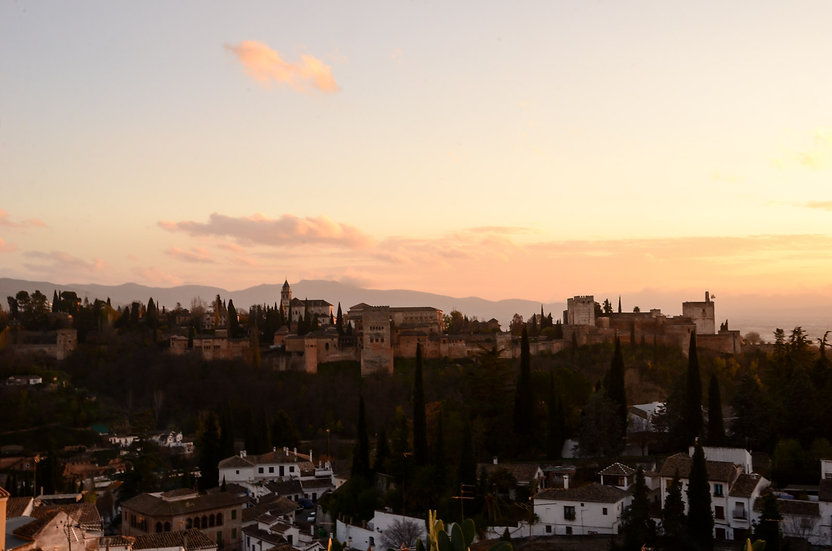 Alhambra Sunset