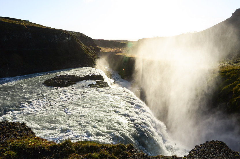 Raging Gulfoss
