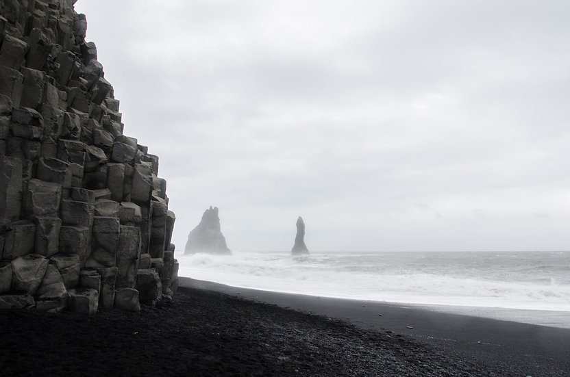 Basalt Sea Stacks