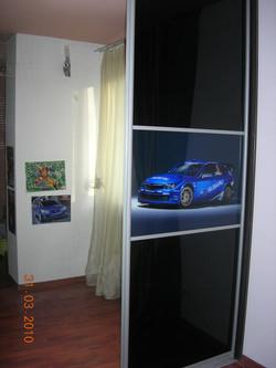 Шкаф с УФ печатью
