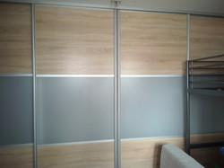 ЛДСП + матовое стекло