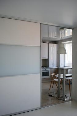 разделение кухни и комнаты