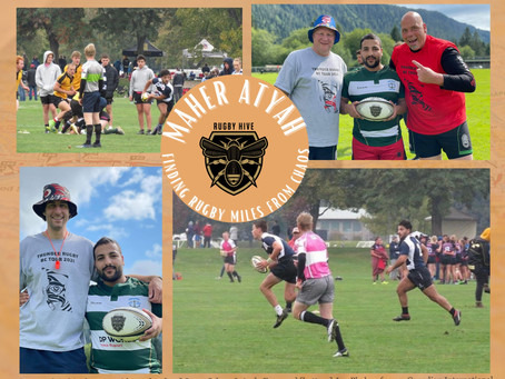 Maher Atyah – Finding Rugby Thousands of Miles from Chaos