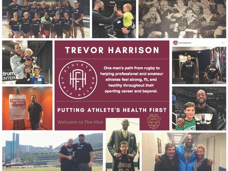 Trevor Harrison's Life Mission: Athlete's Health First