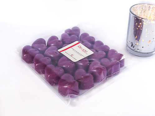 20 Damson Plum, Rose & Patchouli Wax Melts