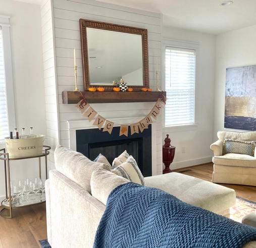 Magnolia cottage living room