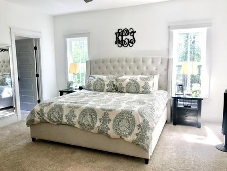 James River Cottage master bedroom