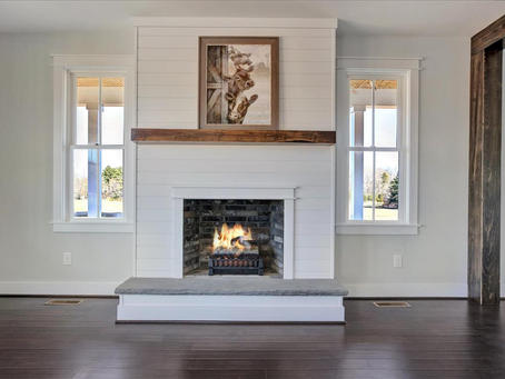 Willow fireplace