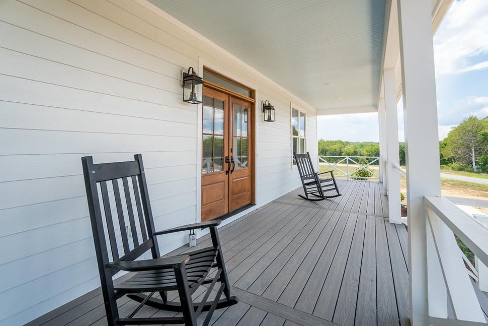 Magnolia Cottage front porch
