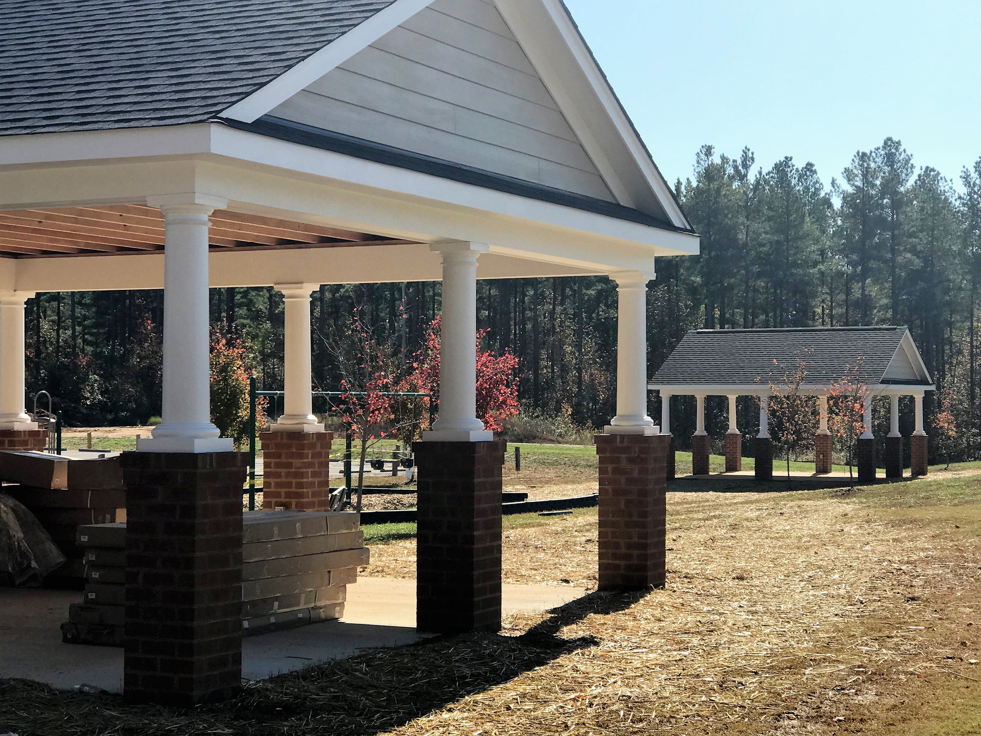 Picnic Shelters - Completed October 2017