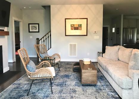Four Gables living room