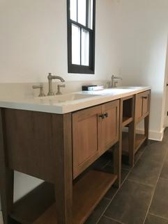 Rose Cottage master bathroom