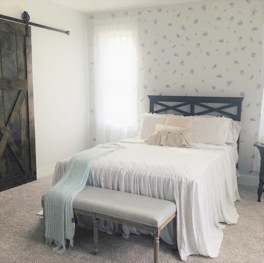 Willow master bedroom