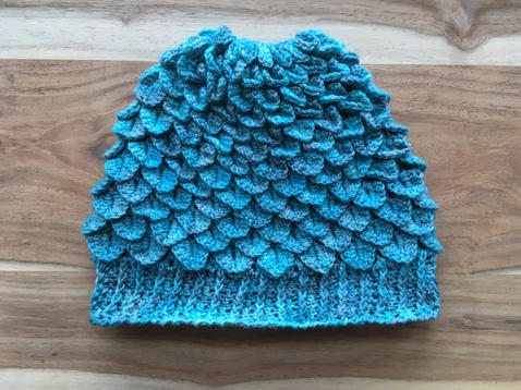 Dragon Scale Hat