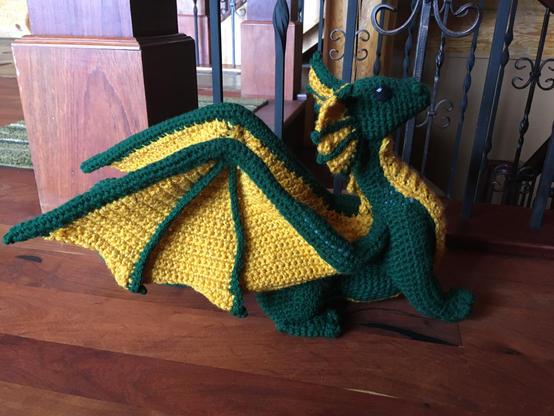 Green & Gold Dragon