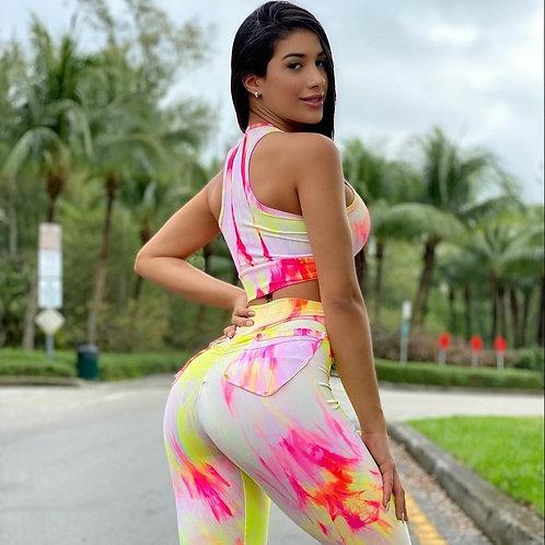 COMPLETO Brazil  PUSH UP Tie Dye