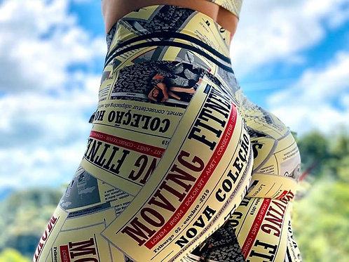 Legging MOVING PUSH UP Paper