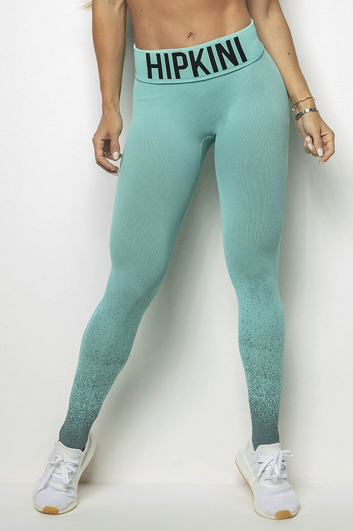 Legging Hipkini PUSH UP Irresistible Anticellulite Seamless verde agua
