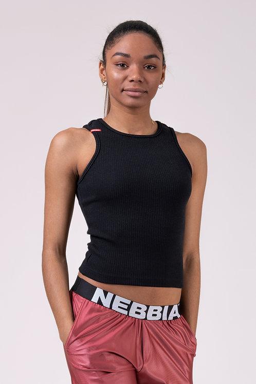 Canotta Nebbia  Label crop 516 black