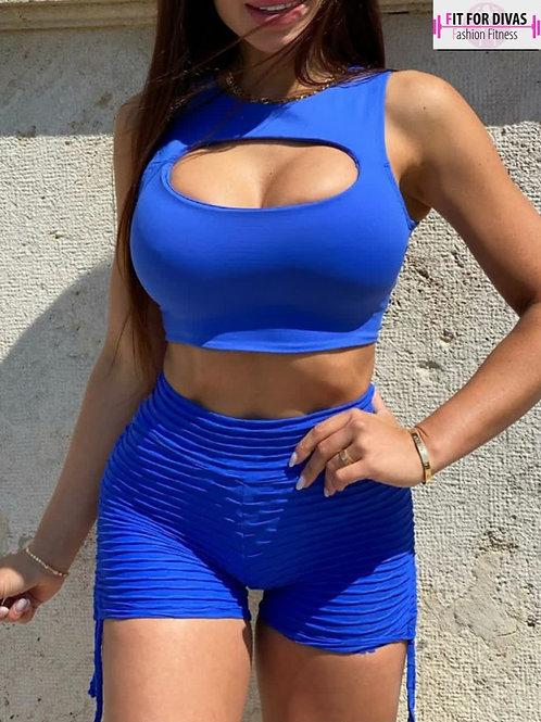 Top BRAZIL Juju blue royal
