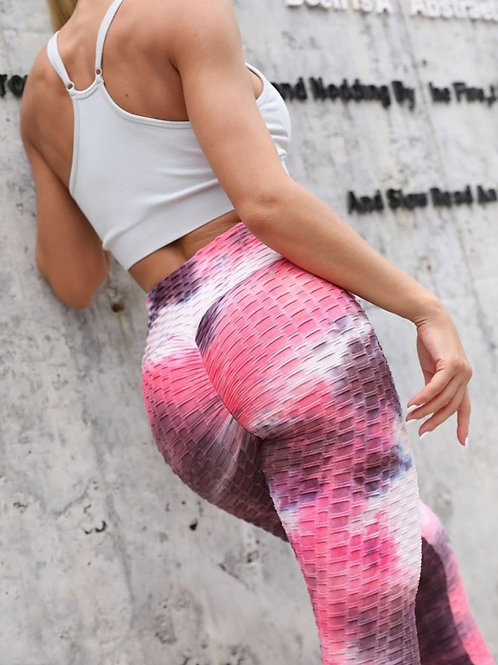 Legging Fitfordivas PUSH UP brocado multicolor