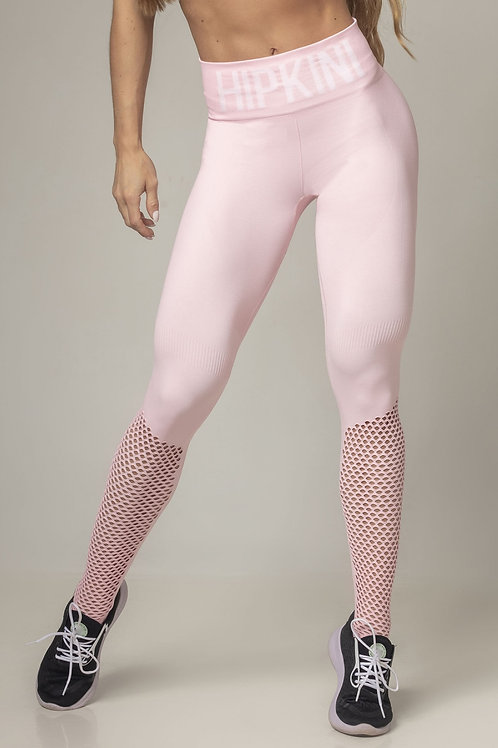 Legging HIPKINI Party anticellulite SEAMLESS rosa claro