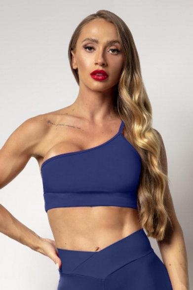 Top Hipkini IND Fitness  Azul marinho de um obro so