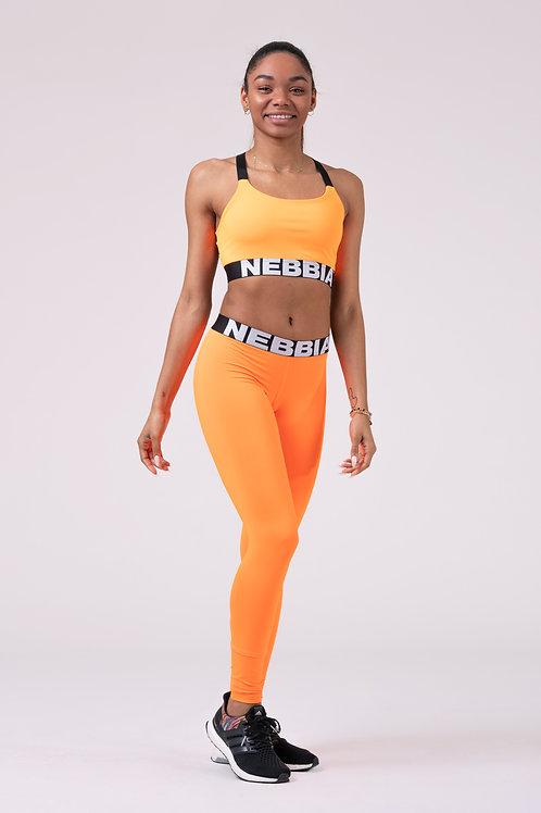 Legging Nebbia 528 Squad Heroe Scrunch butt orange