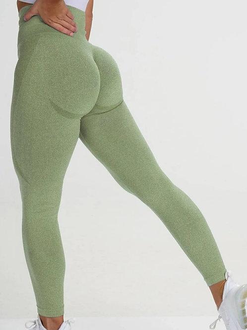 Legging Fitfordivas SEAMLESS   green
