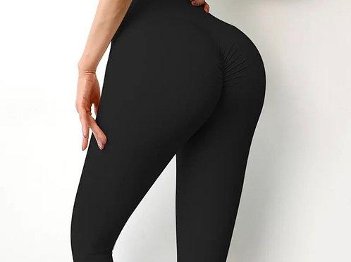Legging Fitfordivas NUDE PUSH UP basic black