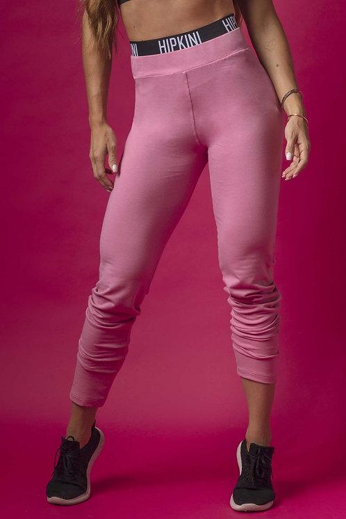 Legging Hipkini GRL Fitness  rosa de moletom