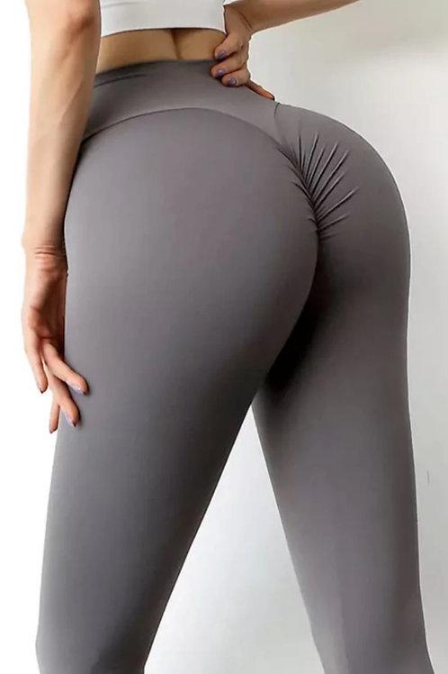 Legging Fitfordivas PUSH UP basic grey