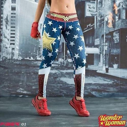 Legging Fiber Wonder woman