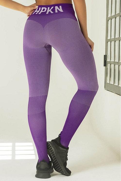 Legging HIPKINI anticellulite SEAMLESS roxa
