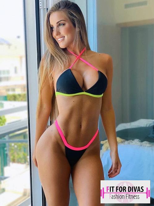 Bikini Brazil Tricolor Monique