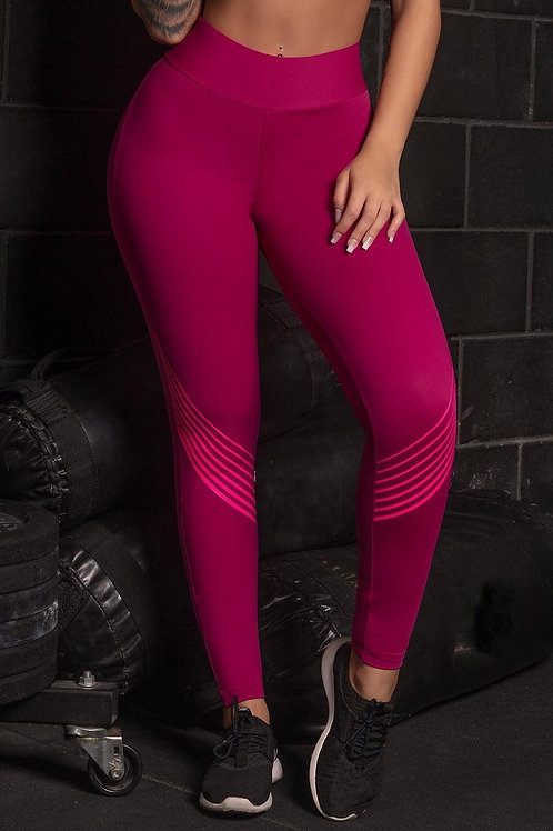 Legging HIPKINI Push Up WU Fitness MARSALA