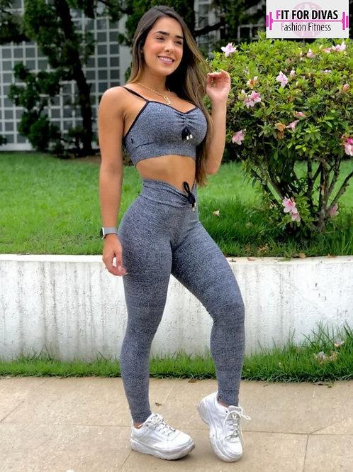 COMPLETO BRAZIL  Fake Jeans cinza