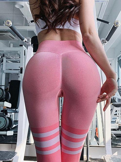 Legging Fitfordivas COLLEGE  PUSH UP  pink