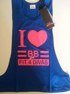 Canotta Fit for Divas I love BB