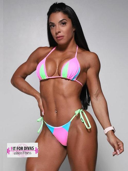 Bikini Brazil Tricolor Caribe