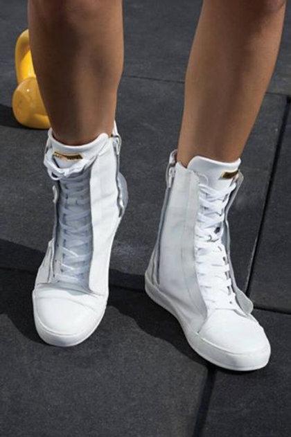 Sneakers alte Labellamafia Bianche