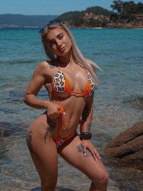 Bikini Brazil Onca laranja
