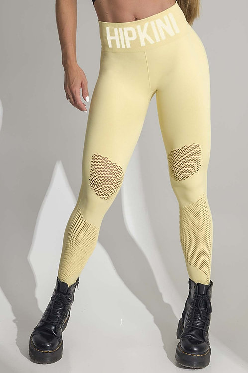 Legging Bohemian Fitness Seamless Amarela